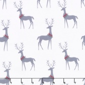 Woodland Winter - Reindeer Winter Yardage