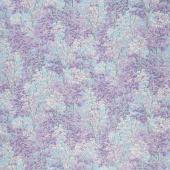 In the Moonlight - Trees Lilac Metallic Yardage