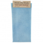 Weeks Dye Works Hand Over Dyed Wool Fat Quarter - Solid Blue Heron