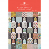 Sassy Spools Quilt Pattern by Missouri Star