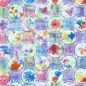 Paper Garden - Pop Dot Rainbow Yardage