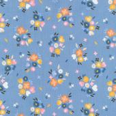 Kenzie - Baby Bouquets Dusk Yardage