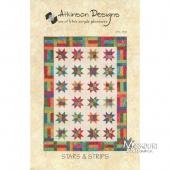Lucky Stars Fat Quarter Quilt Pattern - Atkinson Designs ... : lucky star quilt pattern - Adamdwight.com