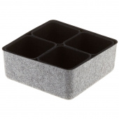 Felt Storage Bin - Black