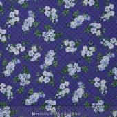 Beverly Park - Small Purple Flowers Yardage
