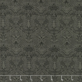 Stiletto - Eloise Lace Ebony Yardage