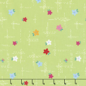Simply Happy - Dash Lime Yardage