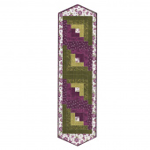 Amour Log Cabin Table Runner POD Kit