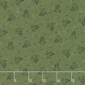Prairie Dreams - Leaves & Berries Green Yardage