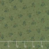 Prairie Dreams - Leaves & Berries Green Yardage