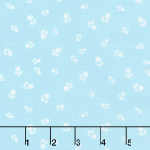 Catnip - Cat Paws Aqua Yardage