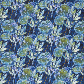 Feather & Flora - Dandelion Midnight Yardage