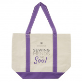 Missouri Star Sewing Mends the Soul Tote Bag