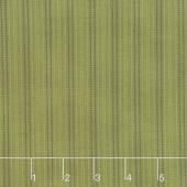 Winterberry - Wool Stripe Pine Yardage
