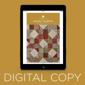 Digital Download - Sandy Sunrise Quilt Pattern by Missouri Star
