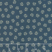 Mood in Blue - Tulip Dance Blue Yardage