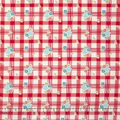 Road Trip - Tablecloth Red Yardage