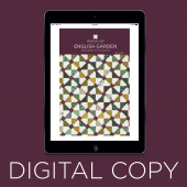 Digital Download - English Garden Quilt Pattern by Missouri Star