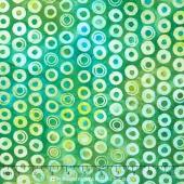 Artisan Batiks - Helsinki Jamaica Colorway Circles Jamaica Yardage