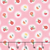 Hand Picked - Posie Pink Yardage