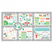 On the Go - Canvas Playmat Multi Canvas Panel