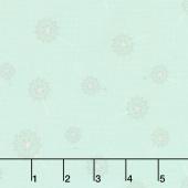 Paper Daisies - Dandelion Mint Yardage