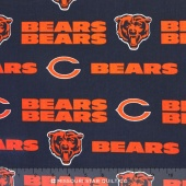 NFL - Chicago Bears Cotton Yardage