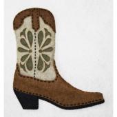 Casey Cowboy Boot Wool Felt Kit