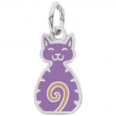Happy Cat Charm, Purple