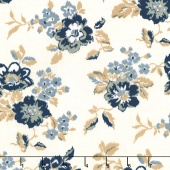 Faded Memories - Faded Main Cream Yardage