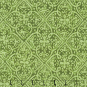 Paradise - Embossed Tonal Green Yardage