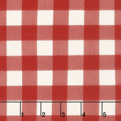 Christmas Traditions - Plaid Red Yardage