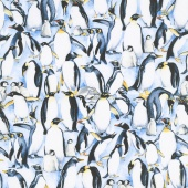 Animals - Stacked Penguins Multi Yardage