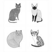 Catnip - Cat White Panel