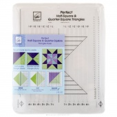 Perfect Half Square & Quarter Square Triangles Ruler