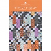 4-Patch Frenzy Quilt Pattern by MSQC