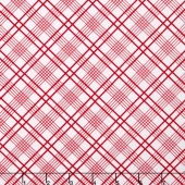 Gingham Girls - Gingham Plaid White Yardage