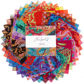 Kaffe Fassett Collective February 2020 Warm Charm Pack