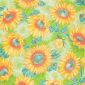 Solana - Sunflowers Sprout Yardage