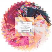 Loose Leaf Digitally Printed Charm Pack