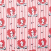 Kewpie Love - Doll Pink Yardage