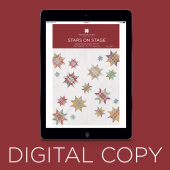 Digital Download - Stars on Stage Quilt Pattern by Missouri Star