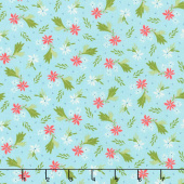 Summer Sweet - Bouquet Sky Yardage