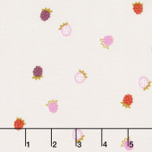 Wild Bouquet - Raspberries Cream Yardage