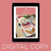 Digital Download - Tulip Time Table Runner Pattern by Missouri Star