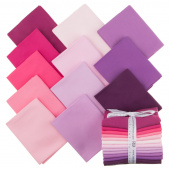 Kona Cotton - Wildberry Palette Fat Quarter Bundle