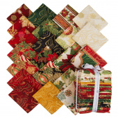 Holiday Flourish 11 Holiday Metallic Fat Quarter Bundle