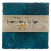 Stonehenge Gradations Brights - Lagoon Chips