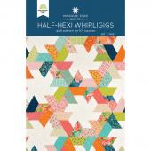Half-Hexi Whirligigs Quilt Pattern by Missouri Star
