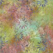 Tonga Batiks - Orchid Fresh Flowers Picnic Yardage